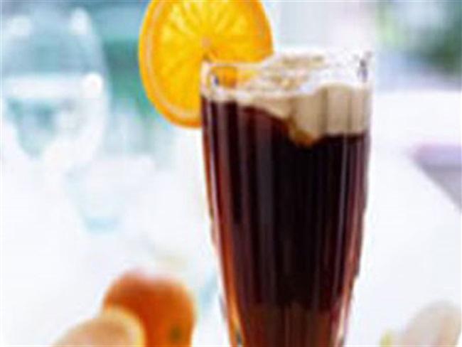 Čoko-kava s narančom