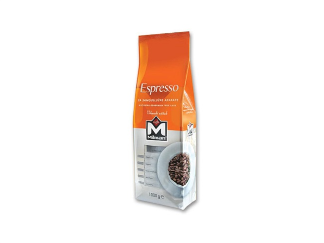 Milman espresso kava za samouslužne aparate